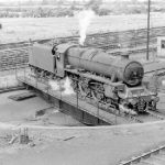 Jubilee class express-passenger engine at Kingmoor MPD