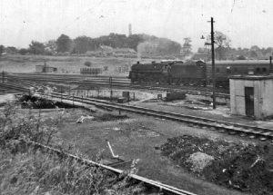 Carlisle Kingmoor shed yard