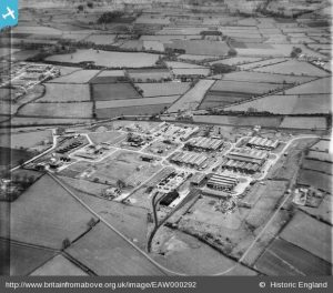 RAF Carlisle 14 Maintenance Unit Complex on present site of Kingmoor Park North, Kingmoor, 1946 - Britain from Above