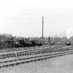 Britannia Class engine at Kingmoor MPD